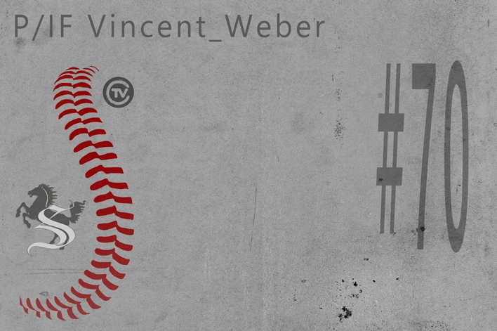 JUN Vincent Weber #70 P/IF